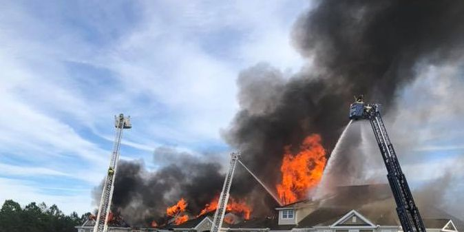 Report: Fire at The Havens in NMB broke out in third floor of building