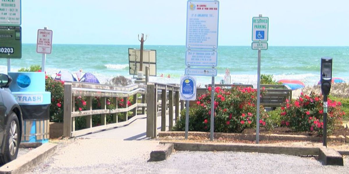 Officials reports spike in parking revenue across Myrtle Beach