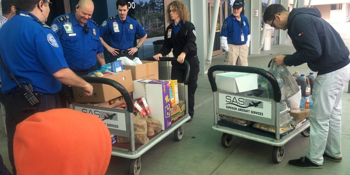 Myrtle Beach mosque donates food, water to TSA agents working without pay