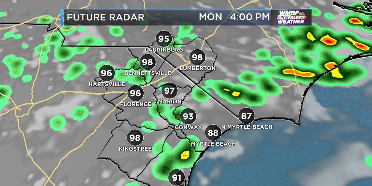 First Alert: Unsettled pattern continues, scattered storm chances