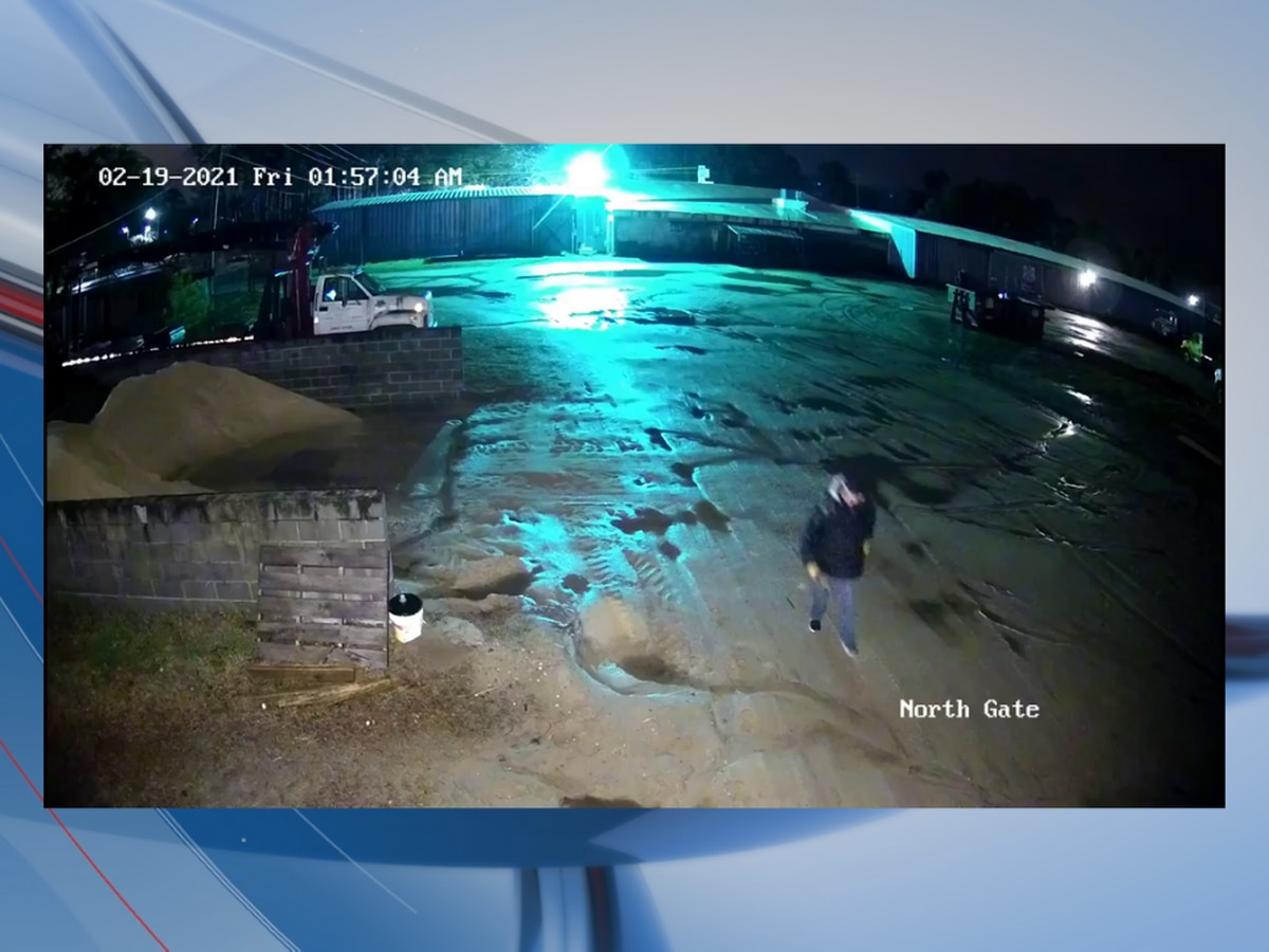 Deputies searching for suspect in burglary of Georgetown County lumber yard