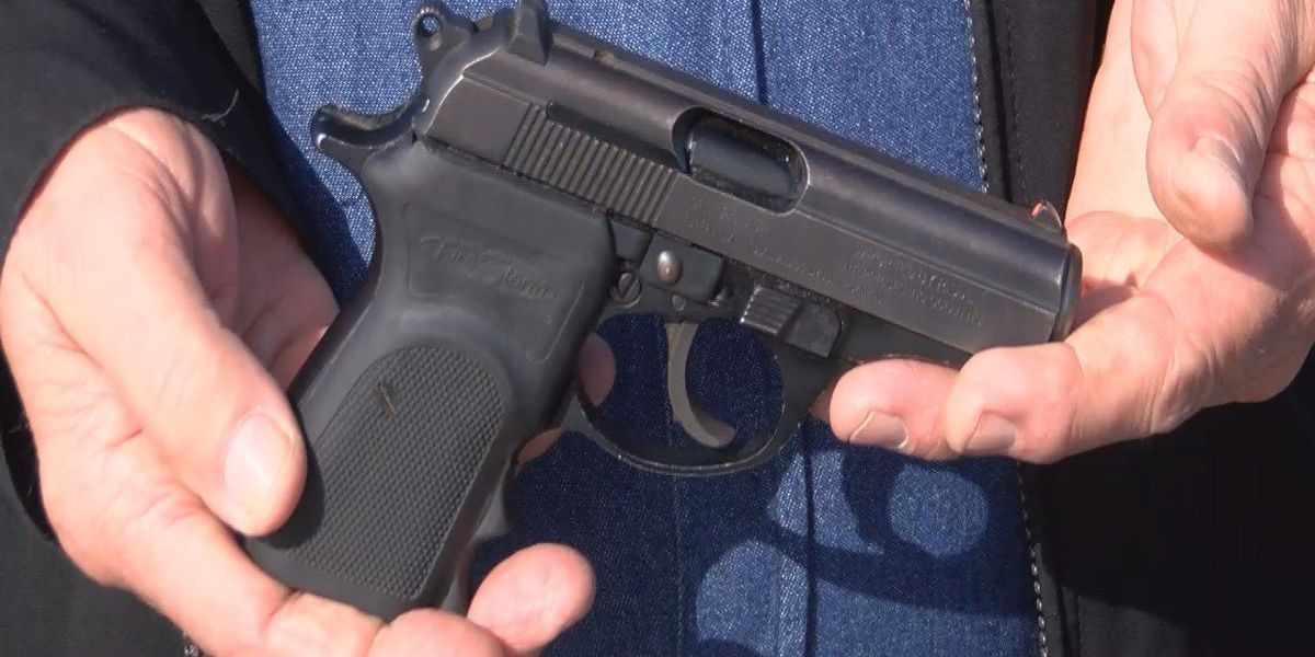 Police recover stolen gun five years later