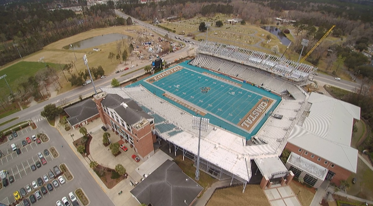 Brooks Stadium expansion project 'on schedule' as it ...