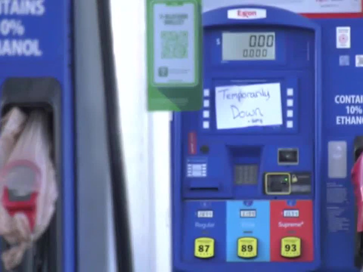 Fuel experts show 63% of Myrtle Beach gas stations running on empty