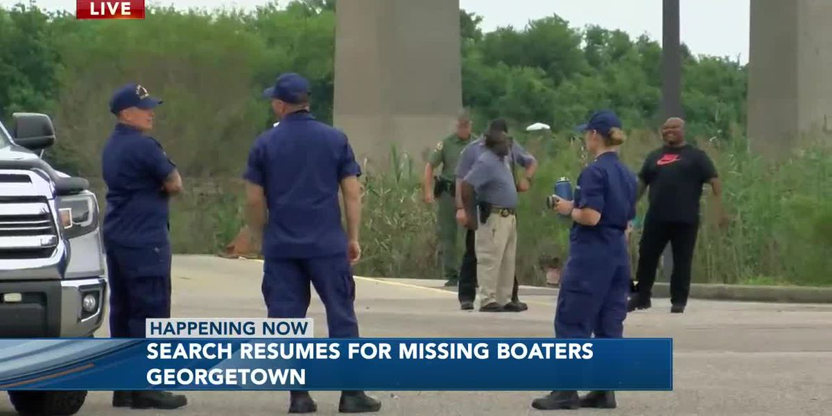 Search for Missing Boaters in Georgetown County