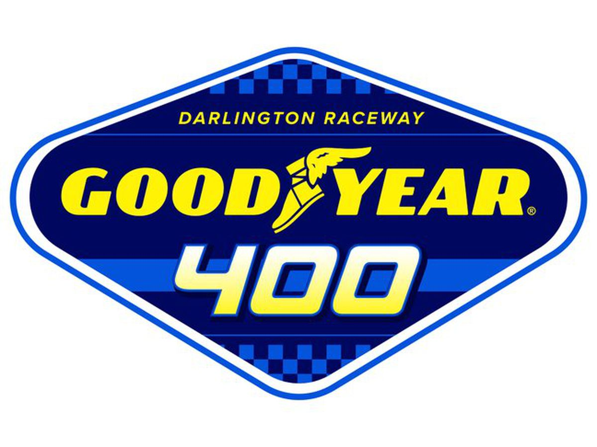 NASCAR Cup Series spring race at Darlington Raceway to be named 'Goodyear 400'