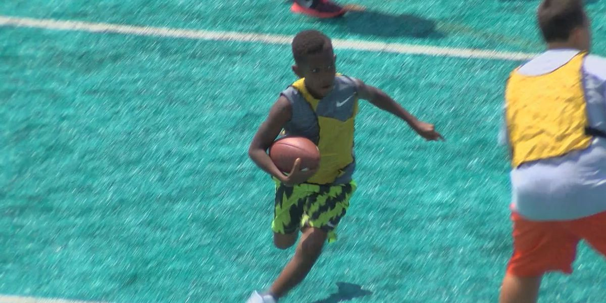 CCU holds youth Football camp
