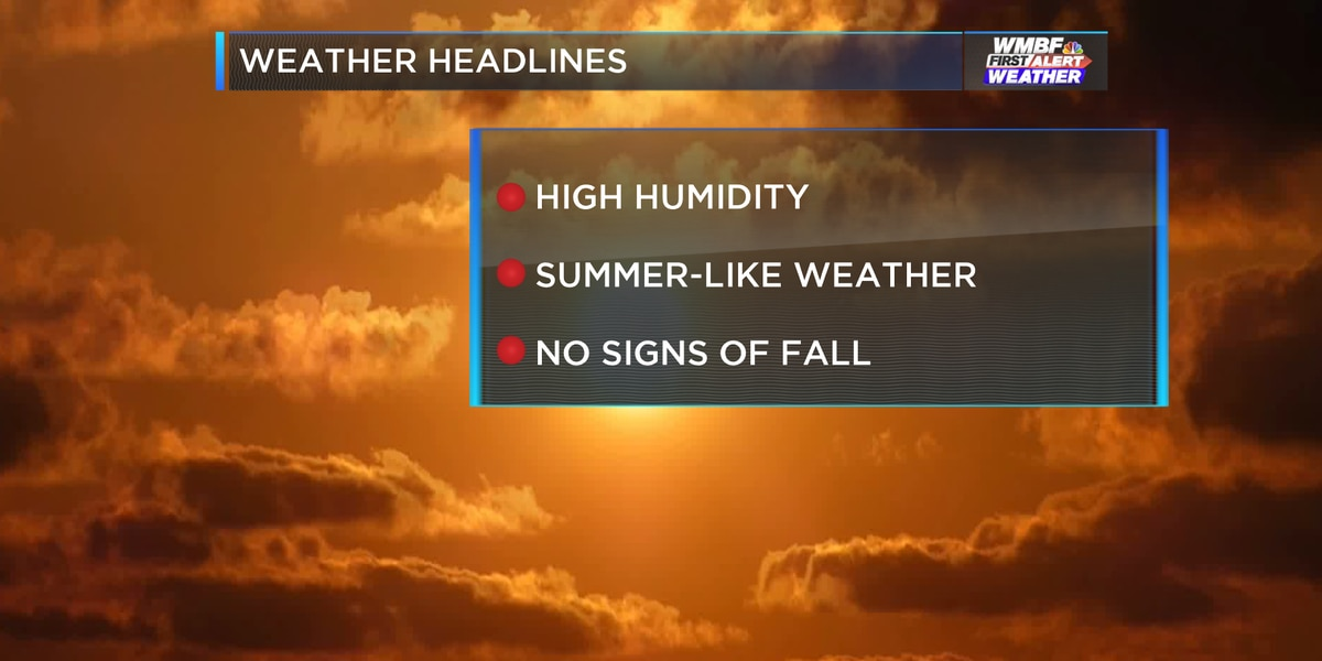 First Alert: Steamy weather continues to end the week