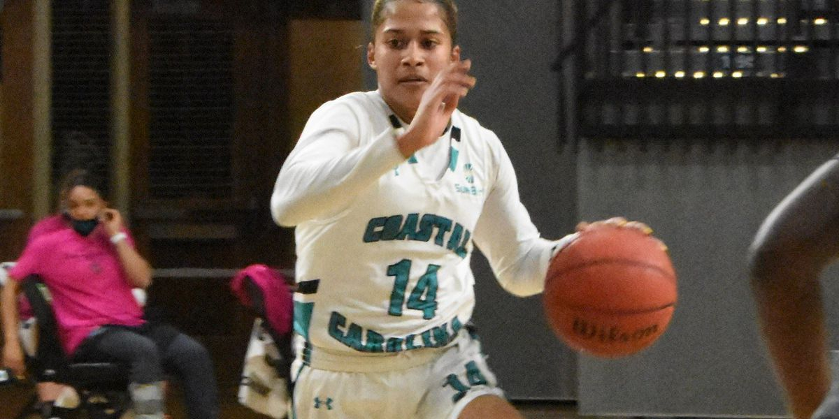 CCU women's basketball falls short against Troy, 97-82