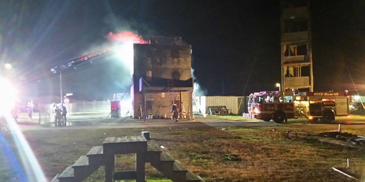 North Myrtle Beach firefighters to conduct live burn training