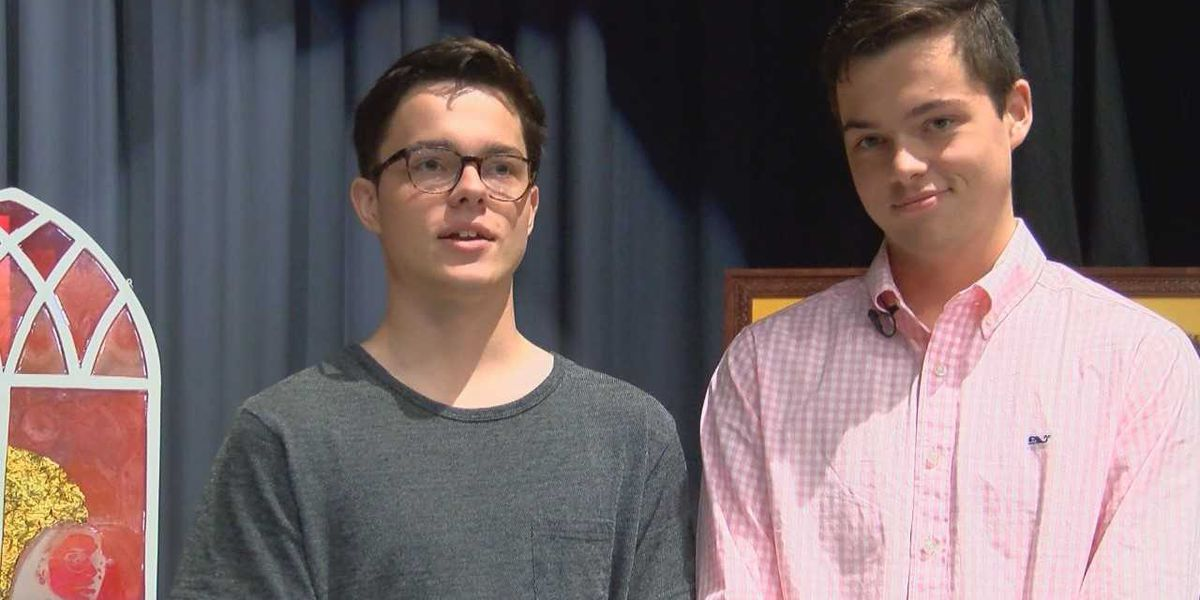 Student Spotlight: Twin brothers' artistic endeavors shine