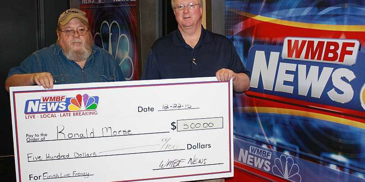Finish Line Frenzy winner takes home $500 and Hardee's® chicken for one year