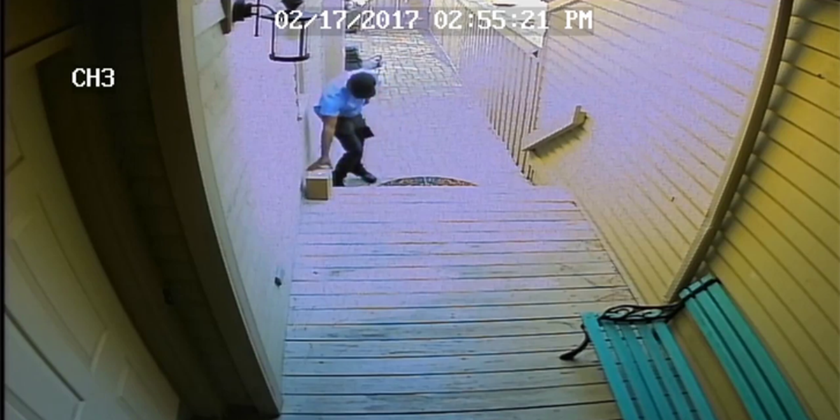 Man says stranger stole his identity, then had package delivered to his home