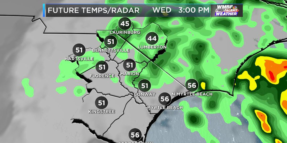FIRST ALERT: A few showers, gusty and cool