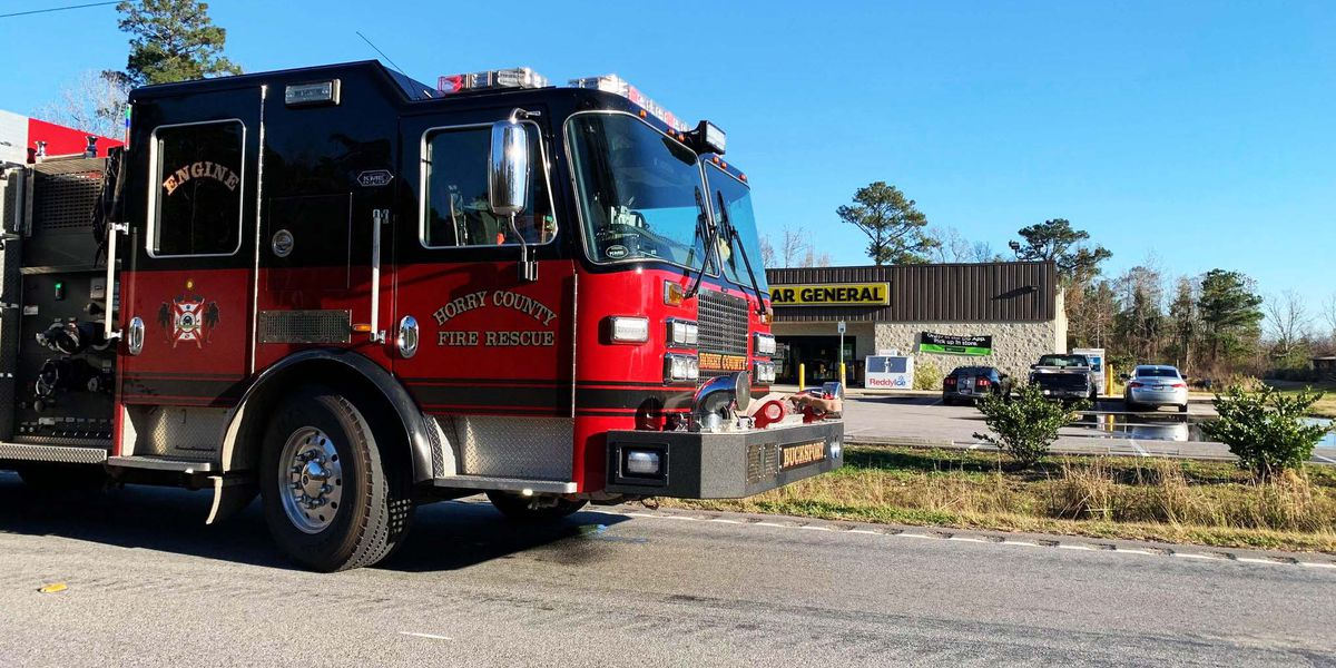 Two injured in three-vehicle crash in Conway