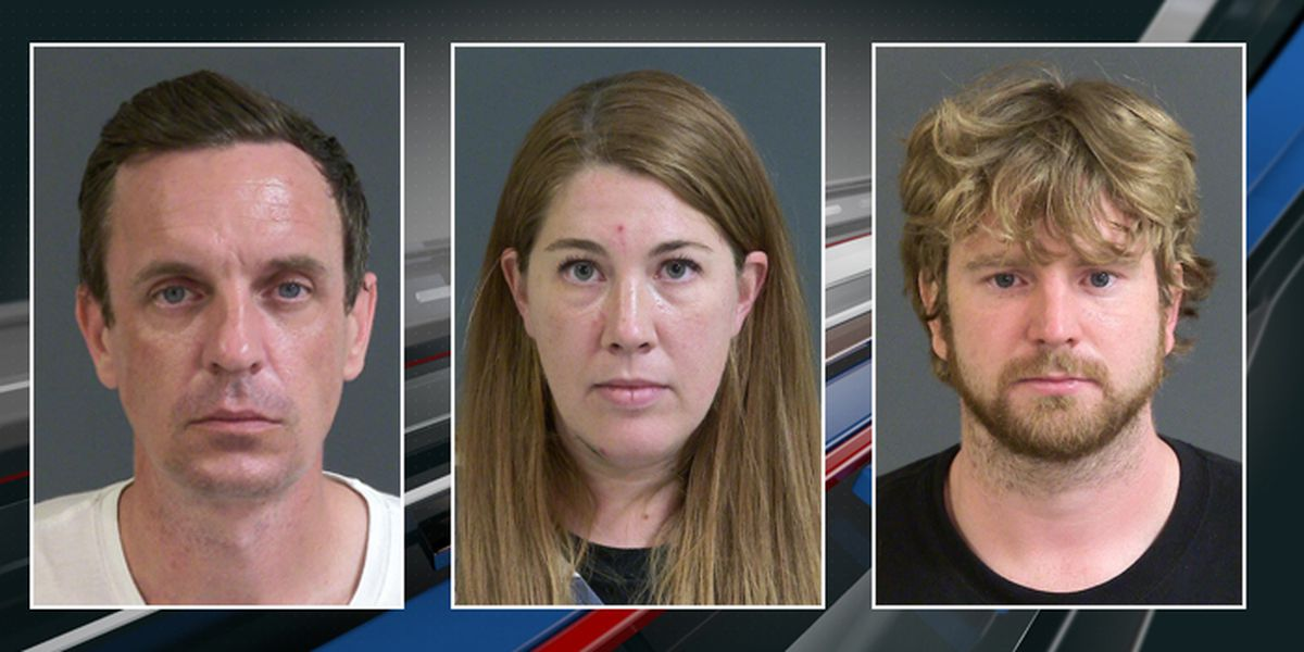 Police: Three arrested for vandalizing downtown Charleston church