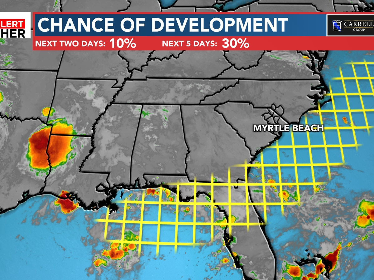FIRST ALERT: Small chance of development next week