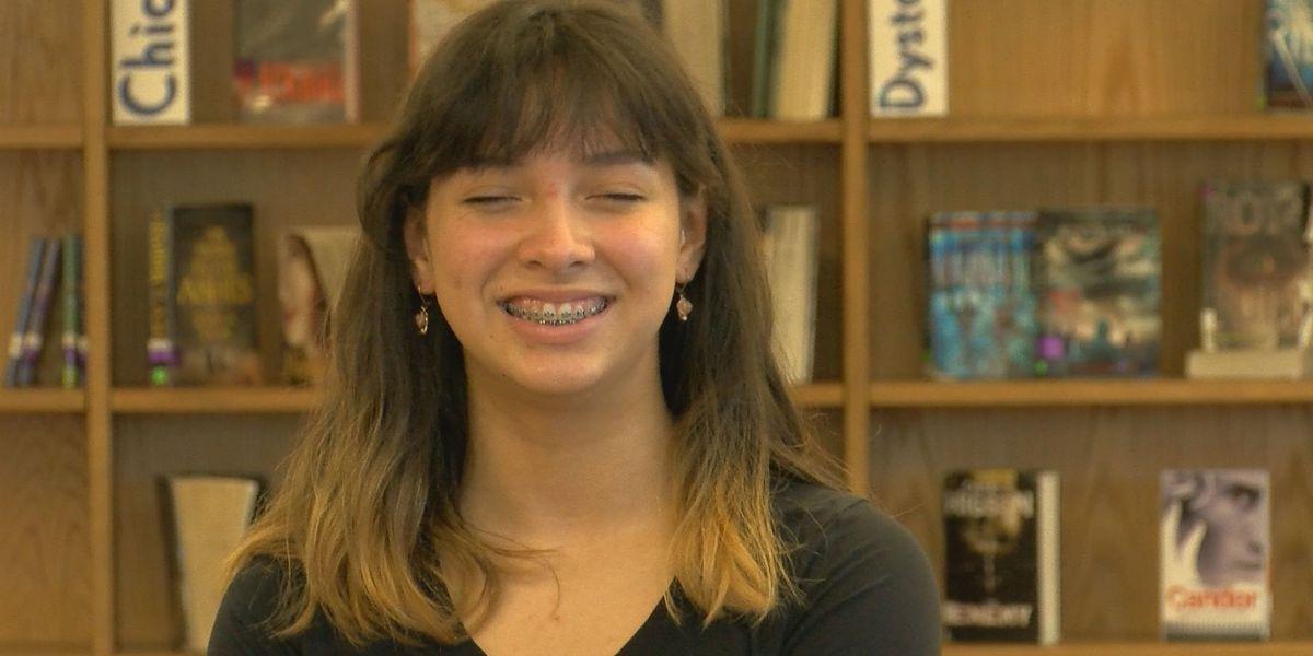 Student Spotlight: 8th grader aspires to be a neurologist