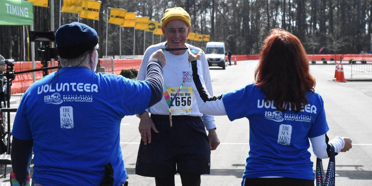 Last person to finish Myrtle Beach Marathon still comes up big