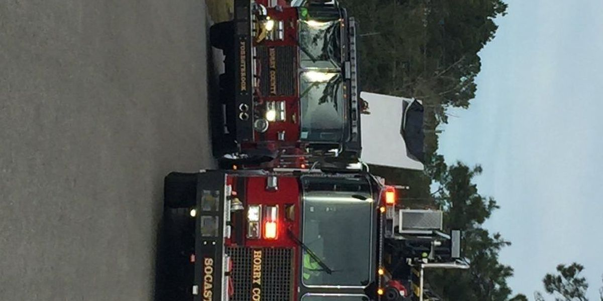 Horry County Fire battle Socastee house fire