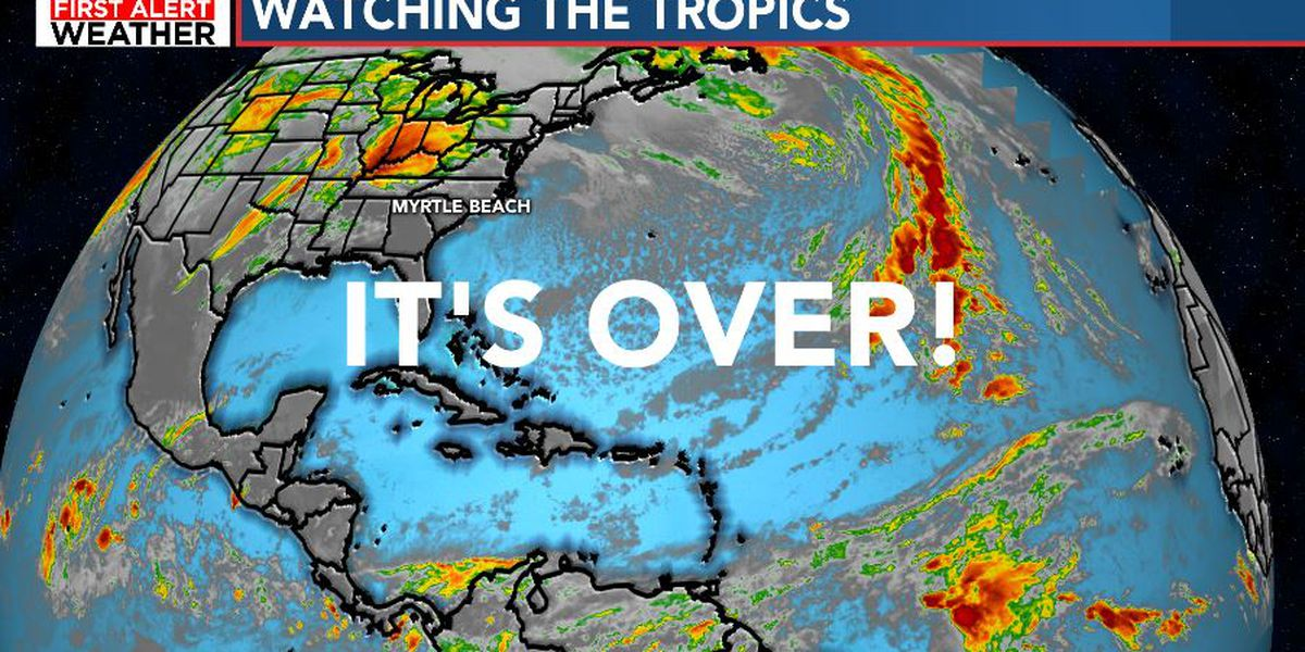 FIRST ALERT: IT'S OVER - Hurricane Season ends today