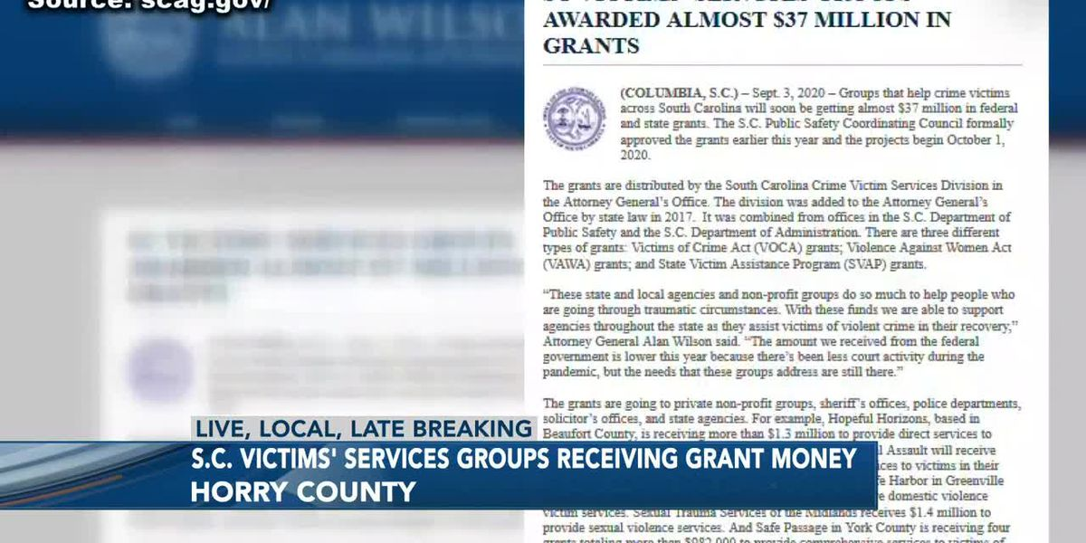 SC Victim Services Grants