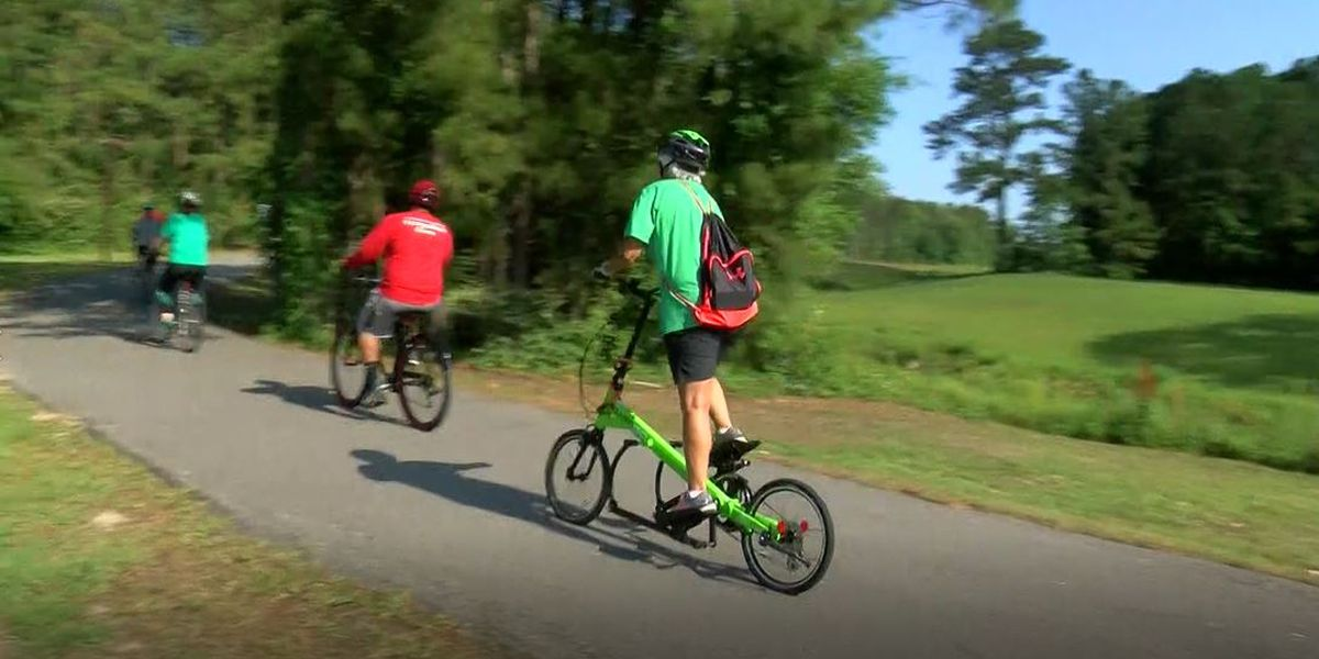 """Slow Roll"" helps first-time bikers explore Myrtle Beach trails"