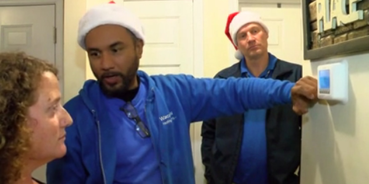 'A huge blessing': Horry County family receives gift of heat for holidays