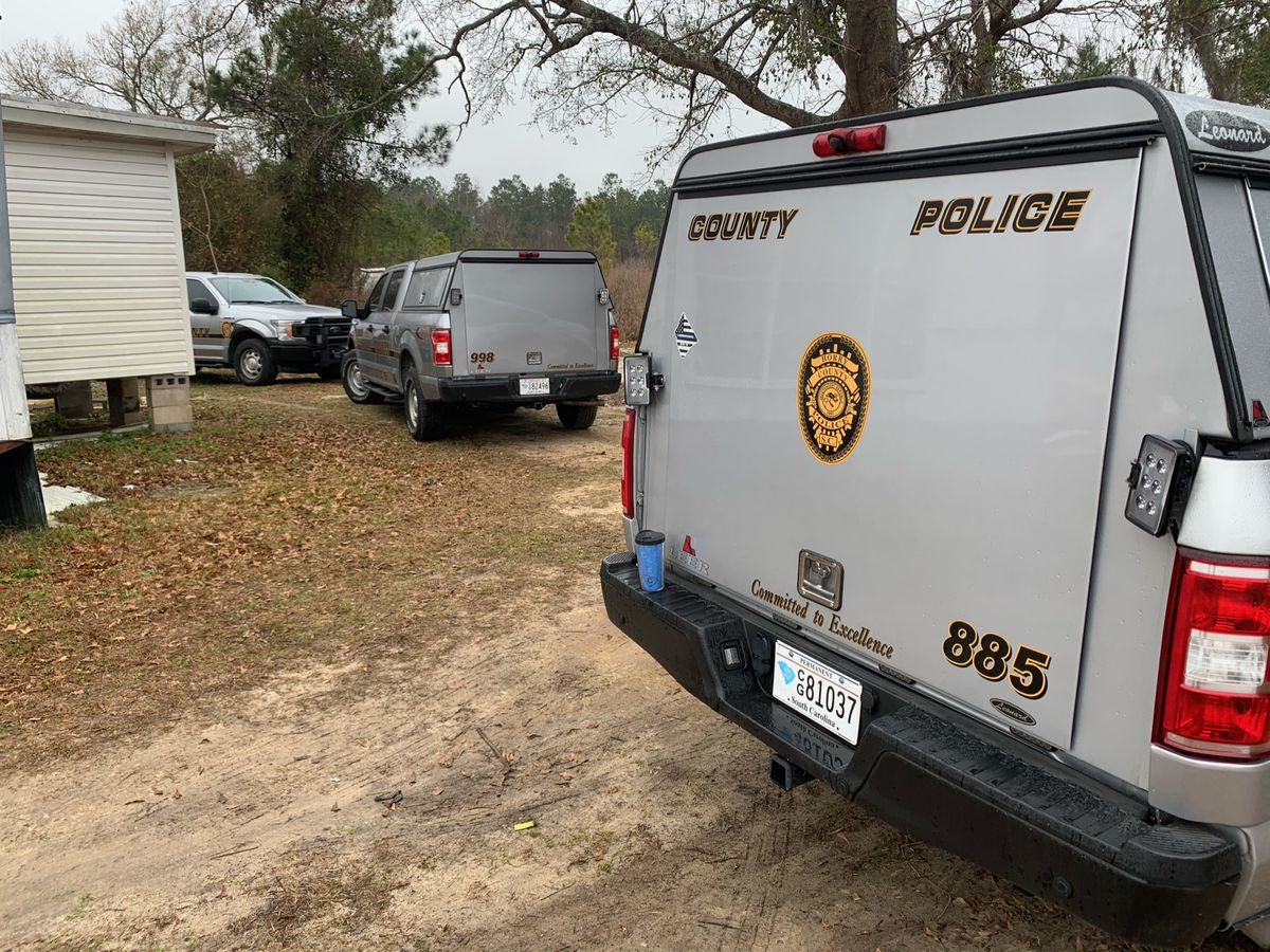 Death investigation underway in Socastee after human remains found in woods