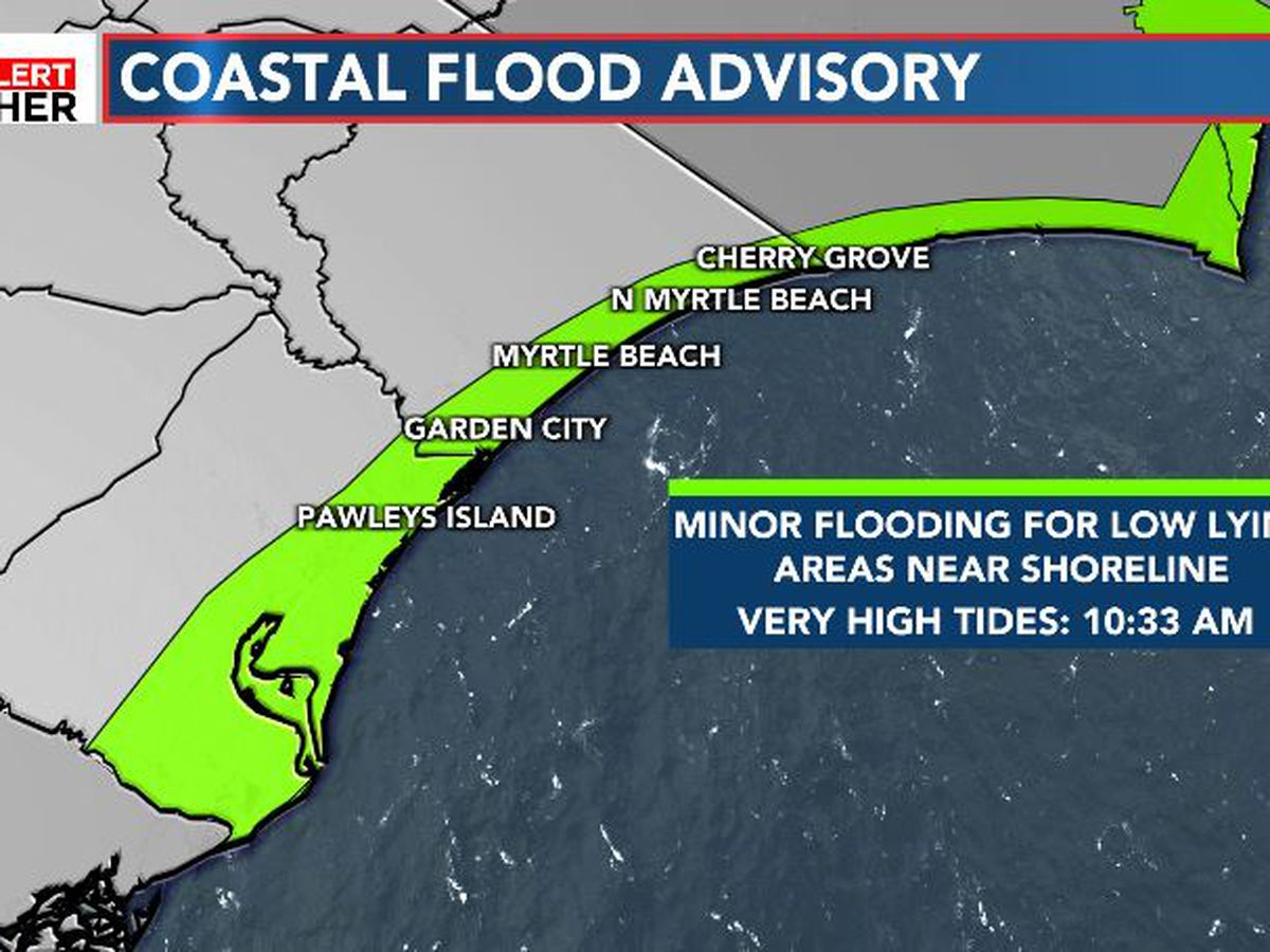 FIRST ALERT: Coastal flooding and dangerous surf conditions this weekend