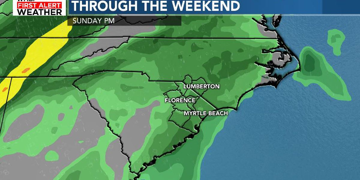 FIRST ALERT: Mild with increasing rain chances through the weekend