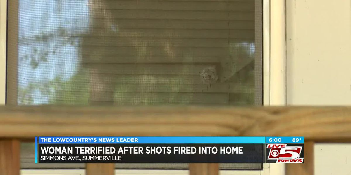 VIDEO: Woman terrified after shots fired into house narrowly miss children