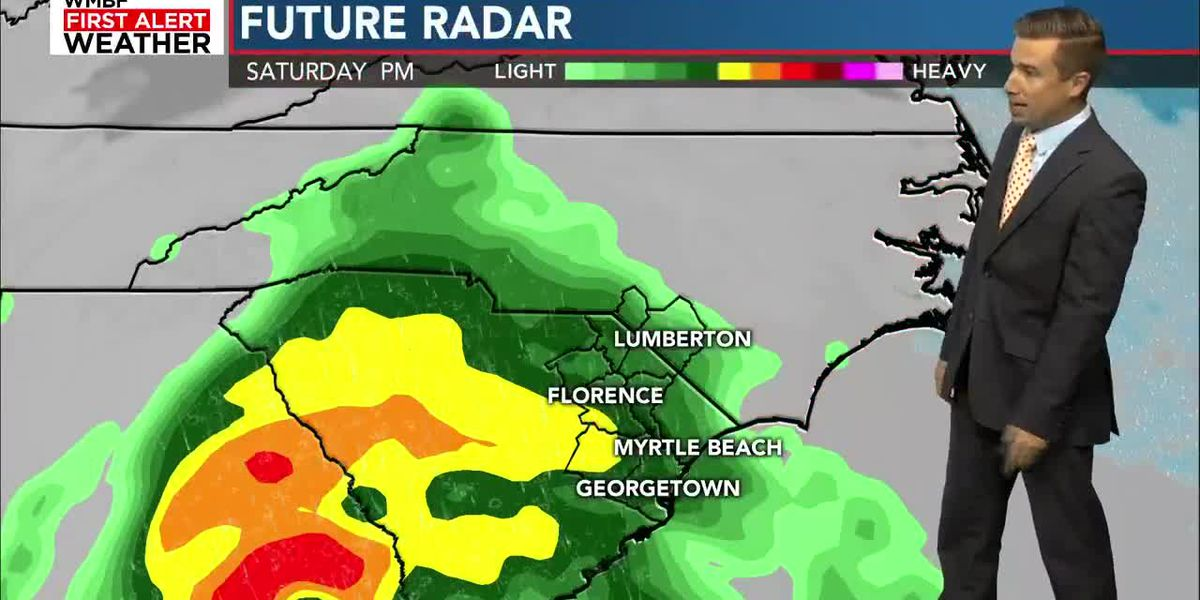 Soon-to-be-Nestor to bring rain, small tornado threat this weekend