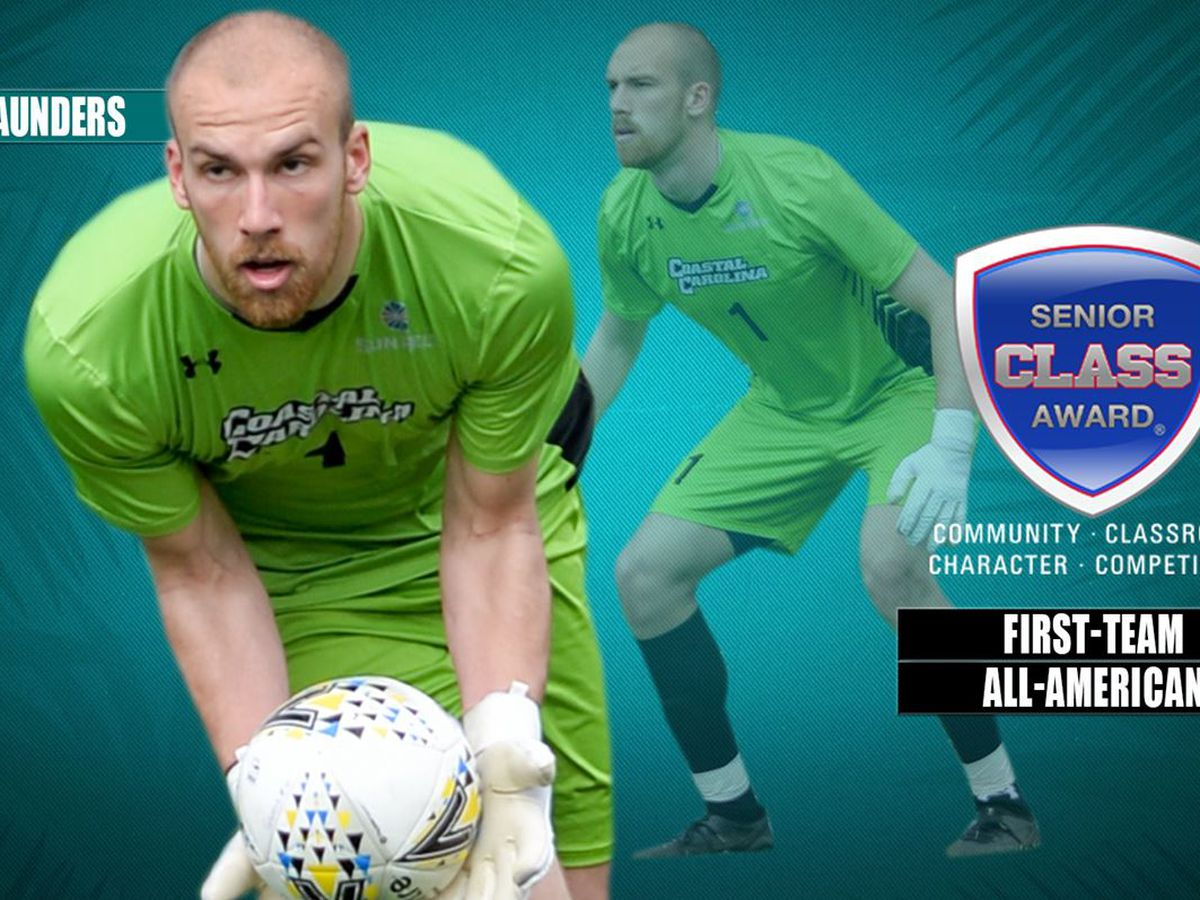CCU goalkeeper Tor Saunders named Senior CLASS Award first-team All-American