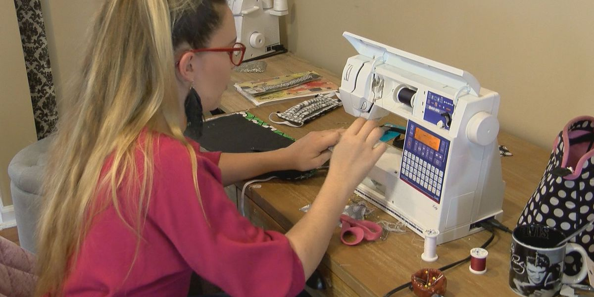 Grand Strand residents make hand-sewn face masks in response to shortage
