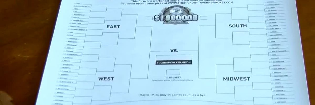 NMB sports bar offers $1 million for perfect March Madness bracket
