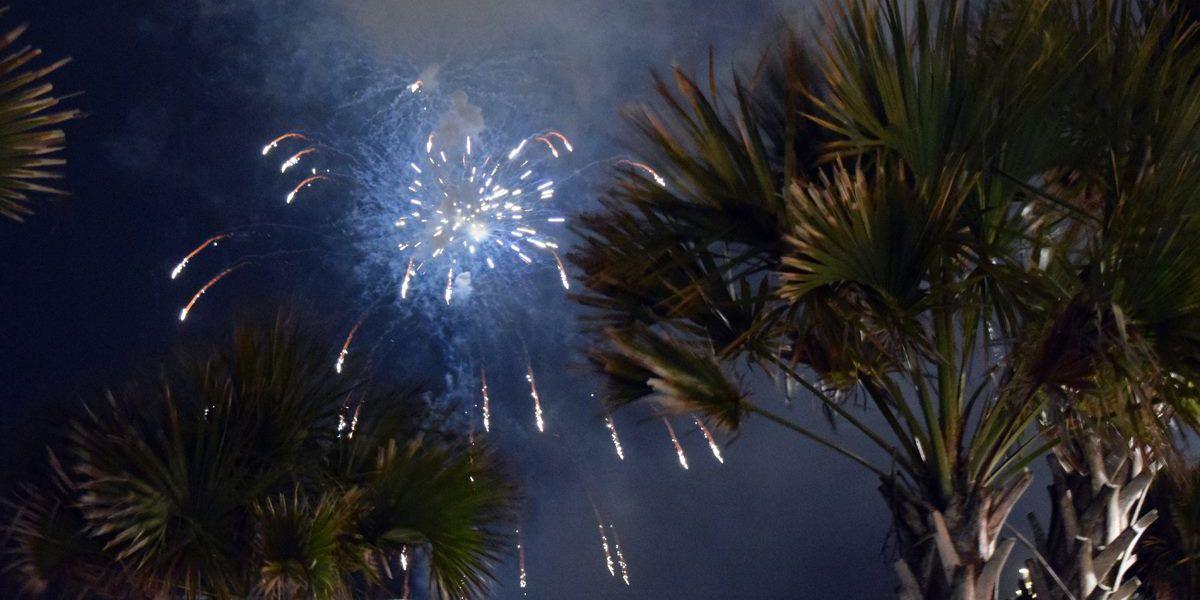 Fireworks shows scheduled throughout June in Myrtle Beach