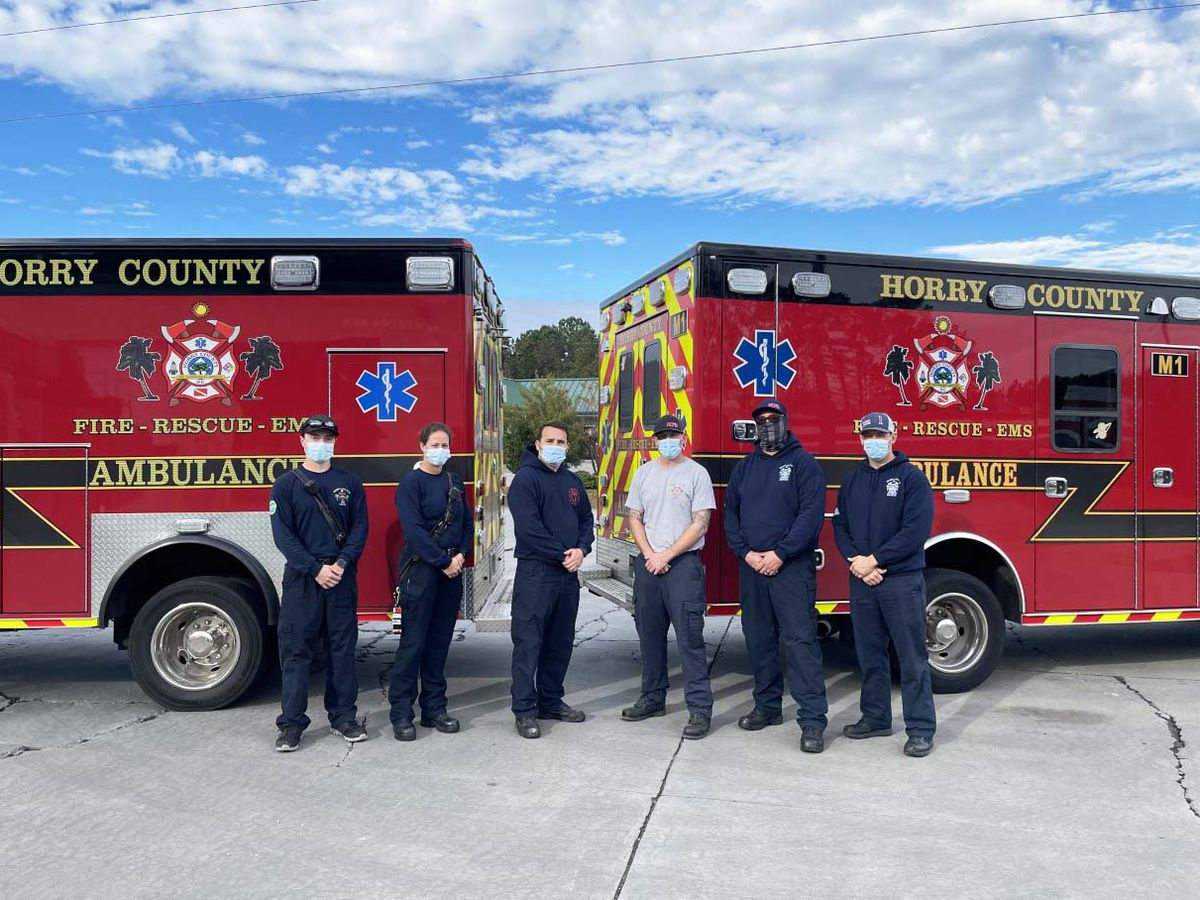Horry County first responders deliver healthy baby