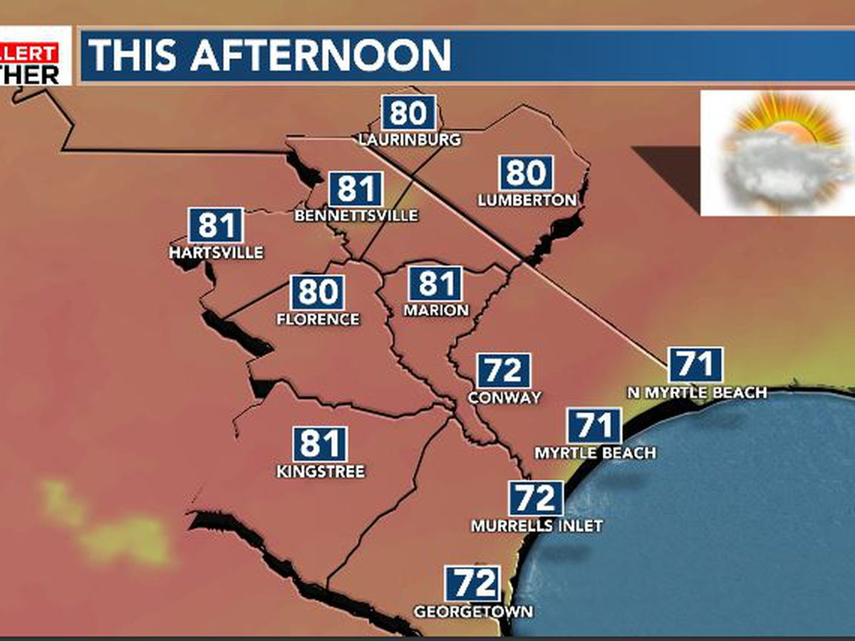 FIRST ALERT: Another warm day before changes arrive into the new week