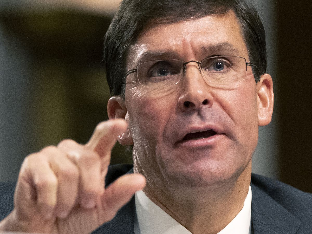 Senate confirms Army veteran Mark Esper secretary of defense