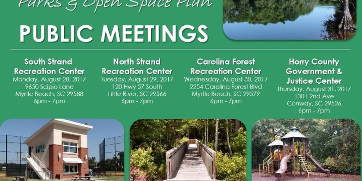 New parks, recreation centers and trailsin the works inHorry County