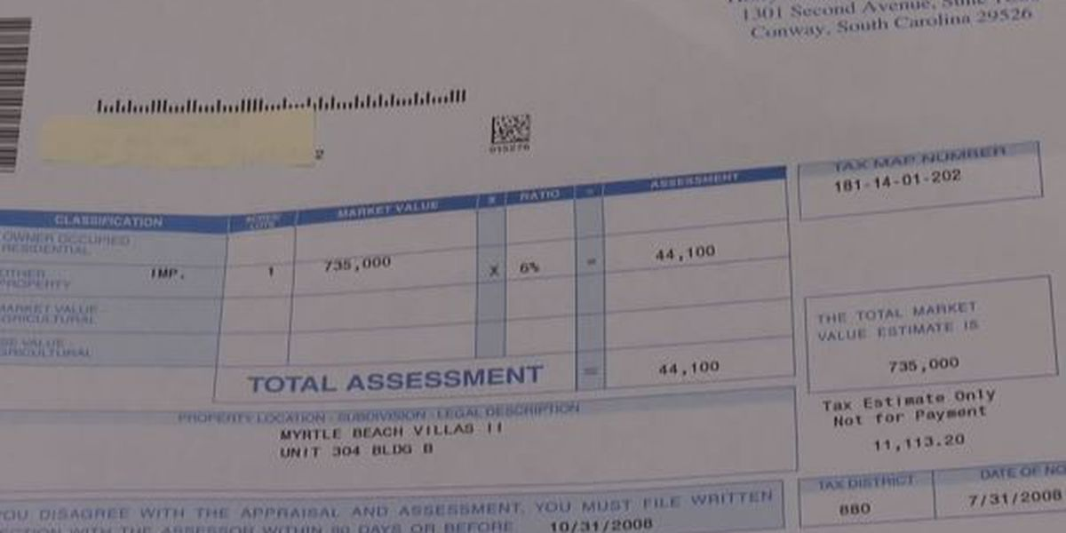 Horry County property tax bill due Thursday