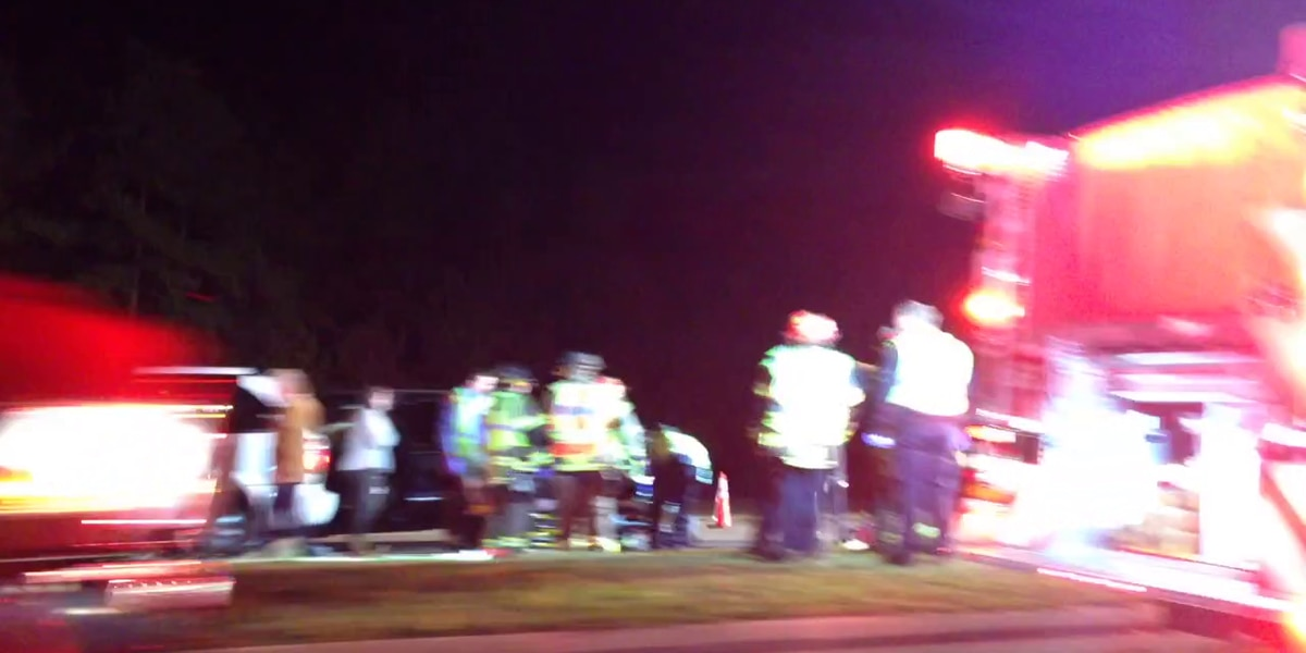 2 patients transported after 3-car accident on Hwy 17 Bypass near Hwy 501