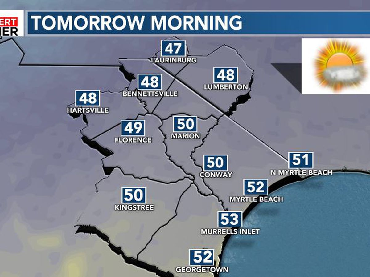 FIRST ALERT: Clear and crisp start to the weekend
