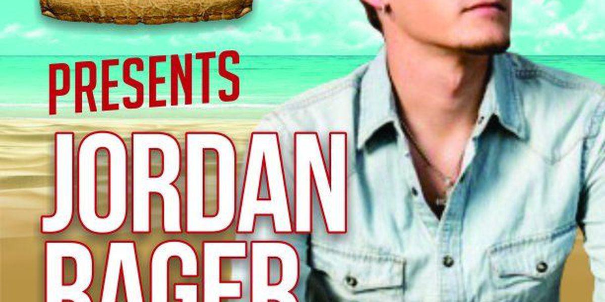 Jordan Rager prepares to hit CCMF stage in June