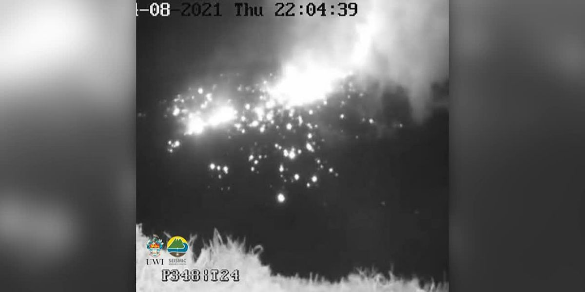 Explosive eruption rocks volcano on Caribbean island of St. Vincent