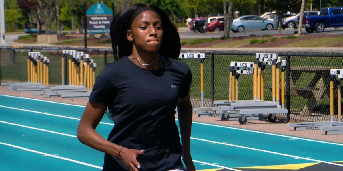 Carvers Bay alum, CCU sophomore Melissa Jefferson named Sun Belt women's track athlete of the week