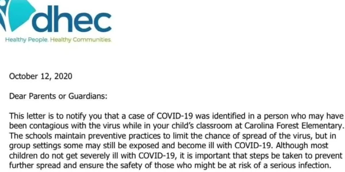 HCS parent raises questions after being notified about COVID-19 case at son's school