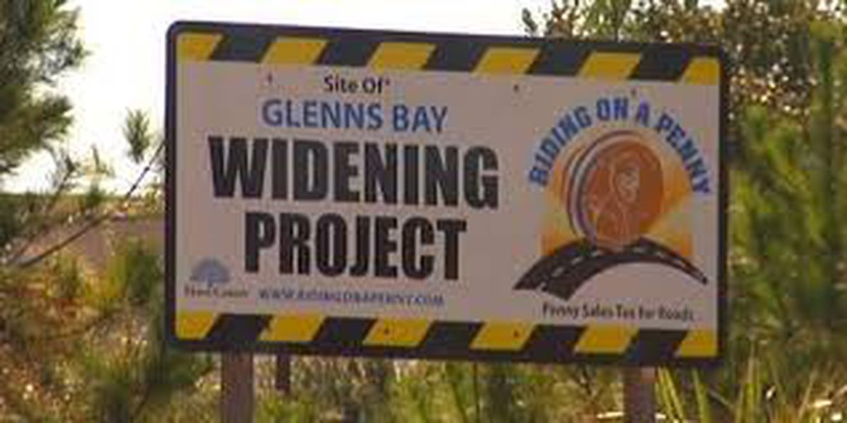 TRAFFIC ALERT: Lane shifts, lane closures to take place this week in area of Glenns Bay Road