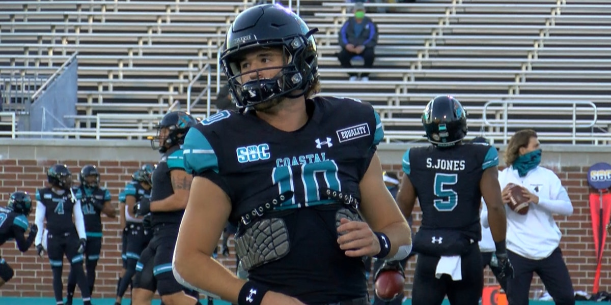 CCU QB Grayson McCall honored as FWAA Most Inspirational Freshman for 2020